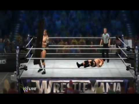 WWE 12: Batista VS Brock Lesnar (Last Man Standing Match)