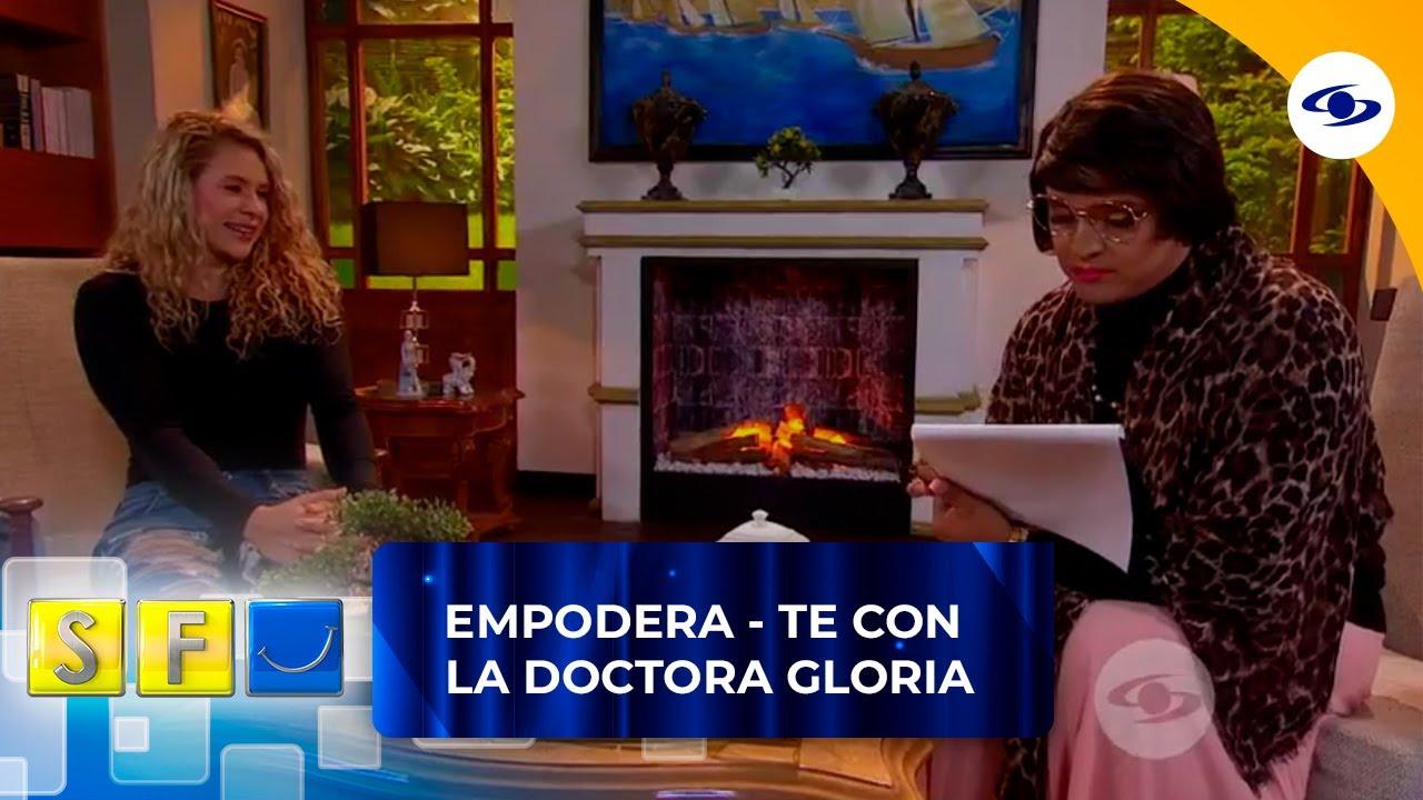 La doctora Gloria le hace un análisis a la ganadora del Desafío The Box