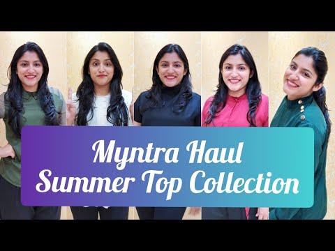 Myntra Haul | Myntra Top Haul | Summer Fashion | Officewear collection