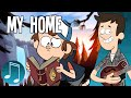 """watch he video of """"My Home"""" - Gravity Falls Song by MandoPony"""