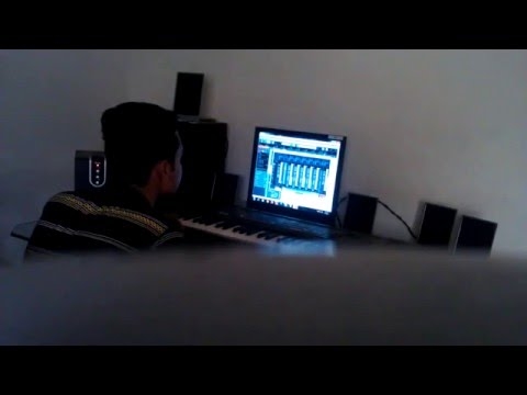 Sonu Aqeel at his Studio - Making Beats for JS Music Group's New Tracks - Behind the scenes
