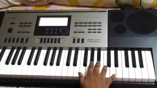 Aashiqui 2 Theme Song - Keyboard Cover - Casio CTK 6300 IN