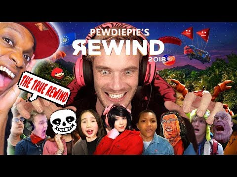 YouTube Rewind 2018 but it's actually good by PewDiePie | REACTION!!!
