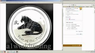 Silver Update 8/12/11 - Numismatics