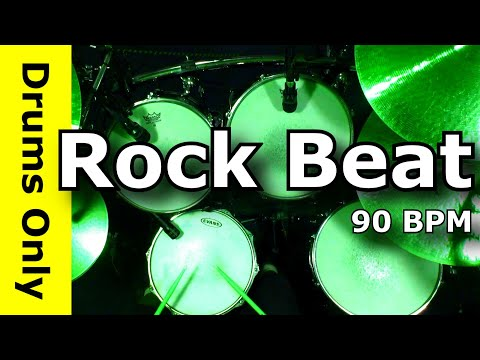 Backing Track - Rock Drum Loops 90 BPM - JimDooley.net