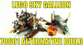 LEGO NINJAGO ALTERNATIVE BUILD 70601 FLINTLOCKE