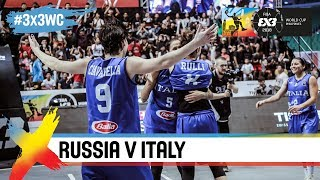 Russia v Italy | Women's Full Game | Final | FIBA 3x3 World Cup 2018