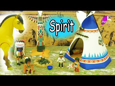 Spirit Stallion of the Cimarron Playmobil Series - Horse Toy Video Honeyheartsc