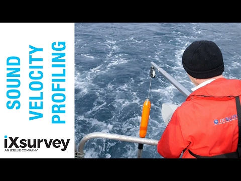 Sound Velocity Profiling // IXSURVEY // Marine Survey Specialists