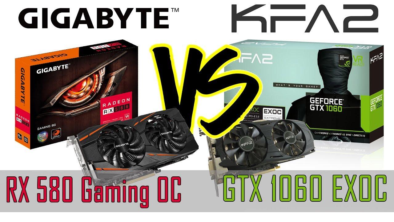 Radeon Rx580 Vs Nvidia Gtx1060 Side By Side Comparison A Budget