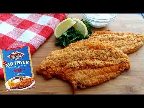 Air Fried Fish - Catfish - Louisiana Air Fryer Seasoned Coating Mix