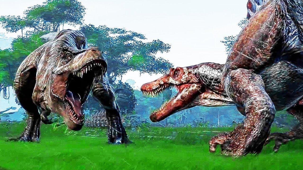 JURASSIC WORLD EVOLUTION Bande Annonce (E3 2018) PS4 / Xbox One / PC