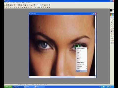 Comment changer la couleur des cheveux avec photofiltre