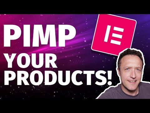 How to EDIT WOOCOMMERCE PRODUCT Pages with Elementor Pro - Pimp up your products! thumbnail