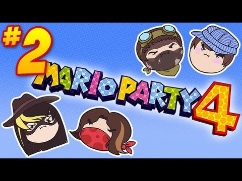 Mario Party 4: When You're Big - PART 2 - Steam Rolled
