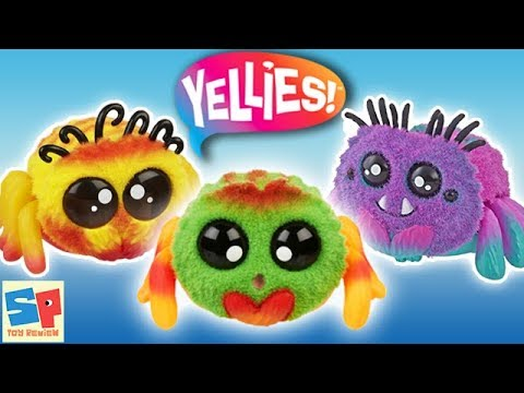 YELLIES Spider SURPRISE!!  *NEW* Adorable Spider Friends from HASBRO | Sneak Peek