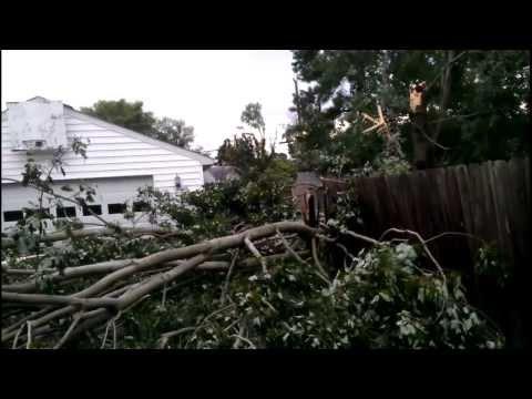 Big Storm Hits Mechanicsville, VA - 8/10/2013