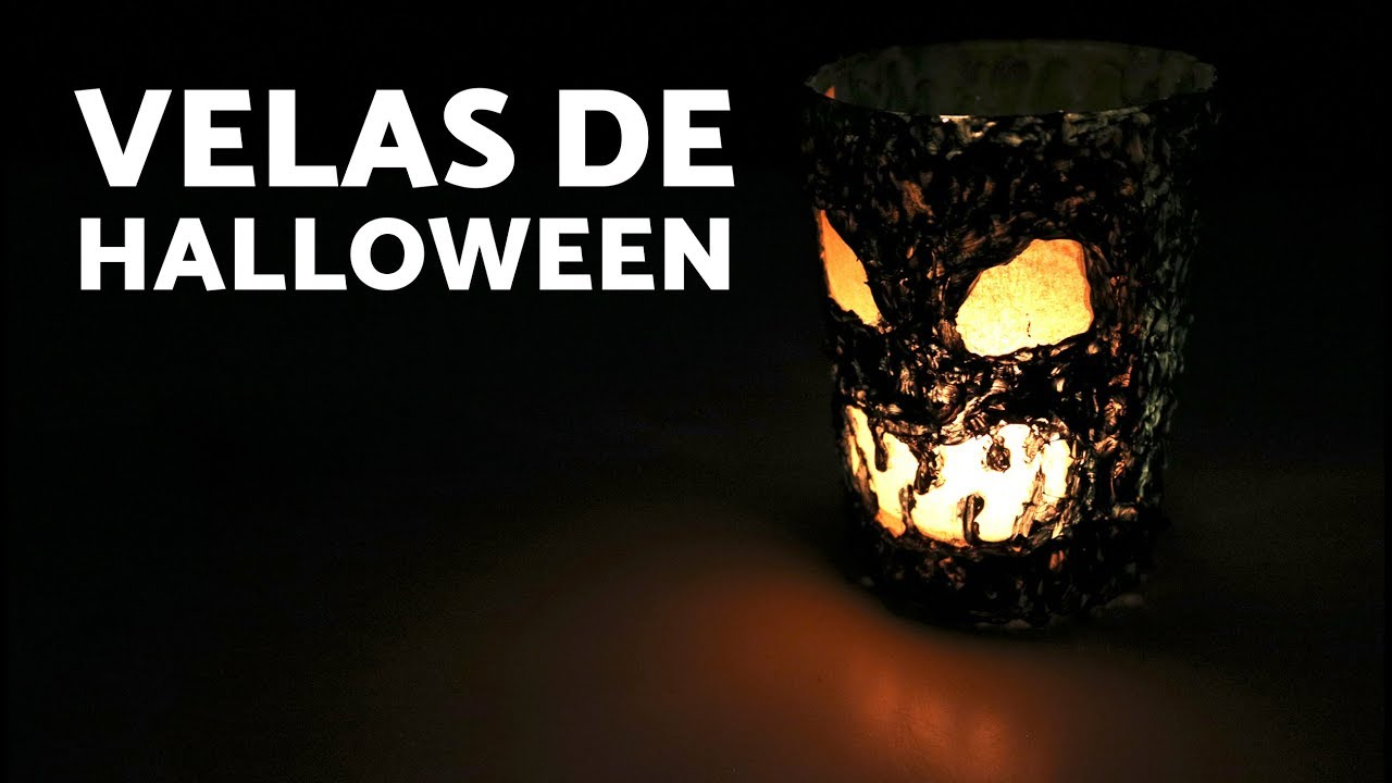 Adornos para halloween caseros velas decorativas con - Adornos halloween caseros ...