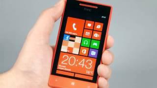 HTC Windows Phone 8S - стильный смартфон средней ценовой категории