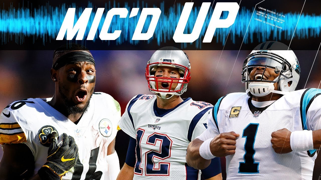 Best Mic'd Up Sounds of the 2017 Season: Trash-Talk, Fails, Celebrations, & More!   NFL Sound FX