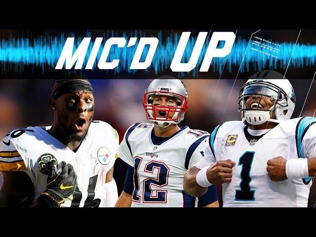 Best Micd Up Sounds of the 2017 Season: Trash-Talk, Fails, Celebrations, & More!   NFL Sound FX