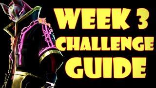 Fortnite WEEK 3 CHALLENGES GUIDE - Treasure Map Flush Factory (Season 5)