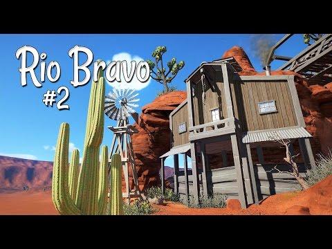 Planet Coaster: Rio Bravo - Ep. 2 - The Old Bridge - McFly 1885 - Part 2