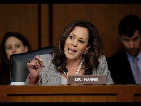 Sen. Kamala Harris Goes After Atty. Gen. Jeff Sessions | Los Angeles Times