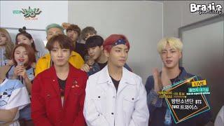 [ESP] 160513 BTS - Music Bank Waiting Room
