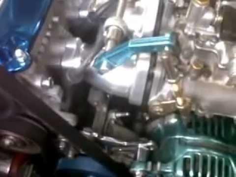 VW Golf MK1 8v DHLA 48 Dellorto Carbs, Initial tuning
