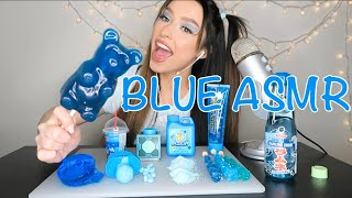 ASMR BLUE FOODS 💙 MOST POPULAR BLUE FOODS*