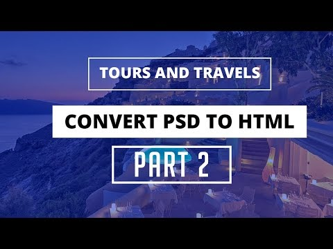 Convert PSD To HTML In Hindi // PSD To HTML Tutorials For Beginners // Part - 2