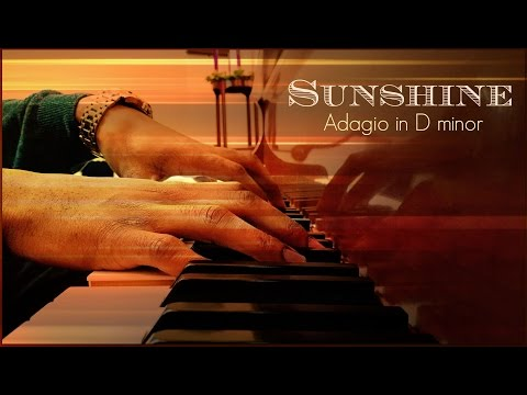 Adagio in D minor Sunshine  Francesco Blackmore  Piano Improvisati
