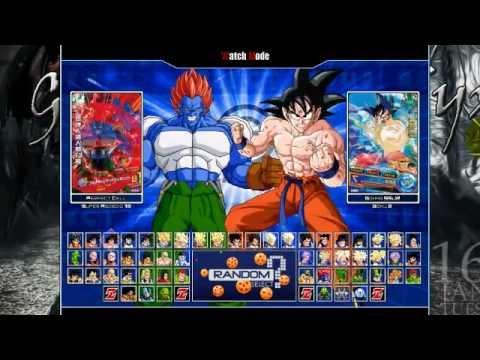 Dragon Ball Z Mugen Edition 2011 HD Español y por Mediafire