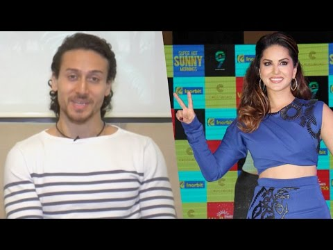 Tiger Shroff High On Praise For For Sunny Leone