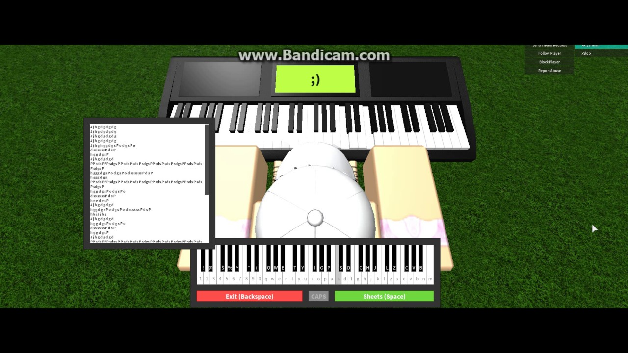 7 Years Old Roblox Piano Youtube