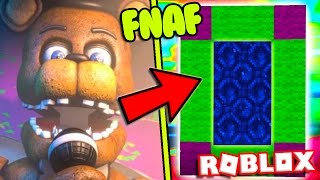 HOW TO MAKE A PORTAL TO THE FNAF RETURN TO THE SCENE DIMENSION - ROBLOX FIVE NIGHTS AT FREDDY'S