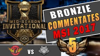 If a Bronzie Commentated MSI | SKT vs G2