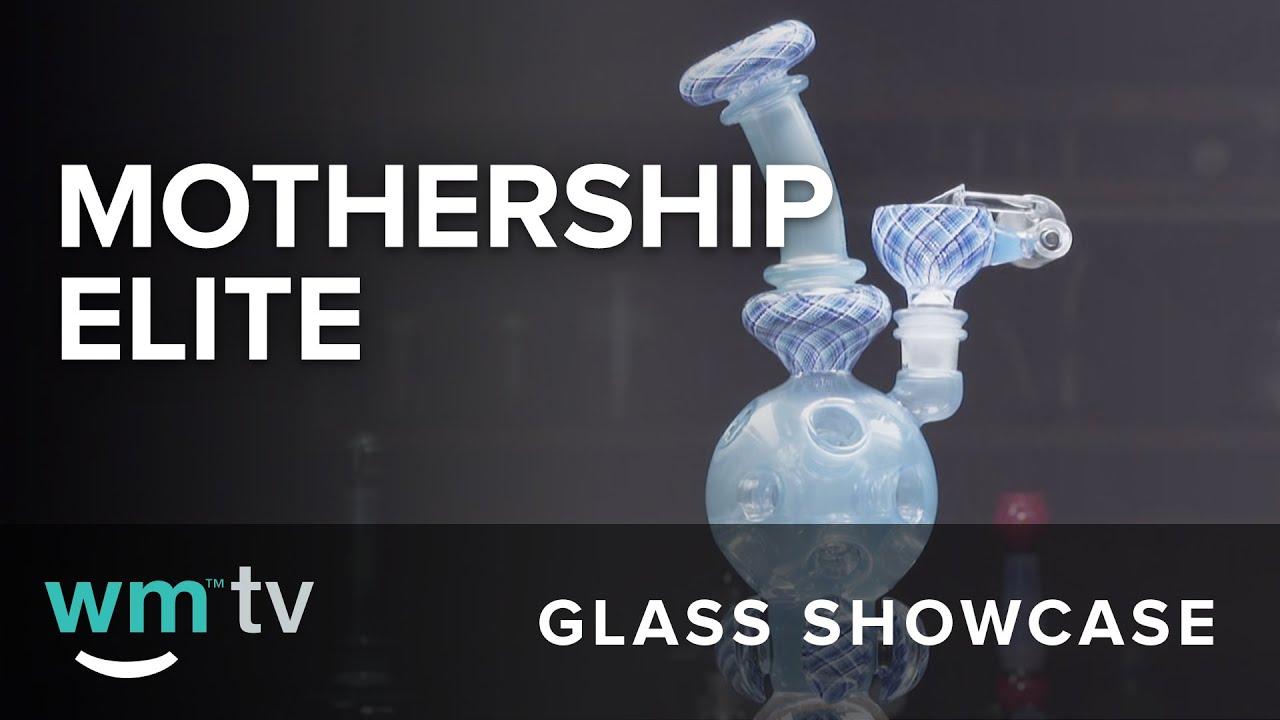 Glass Showcase - Elite Ball-rig Elite Exosphere Mothership Glass