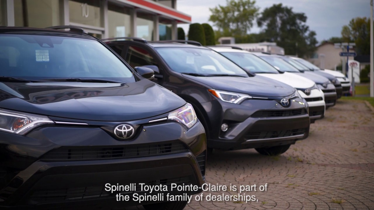 Toyota Pointe Claire >> Toyota Dealership In Montreal West Island Spinelli Toyota Pointe