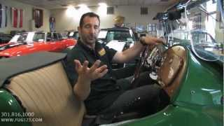 1953 MG TD Roadster for sale with test drive, driving sounds, and walk through video