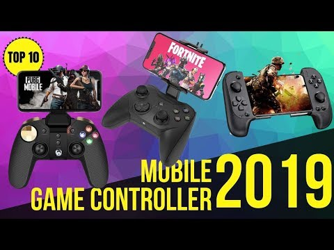 Top10: Best Mobile Game Controller & Trigger For Android / IOS 2019 / Gamepad For PUBG, Fortnite