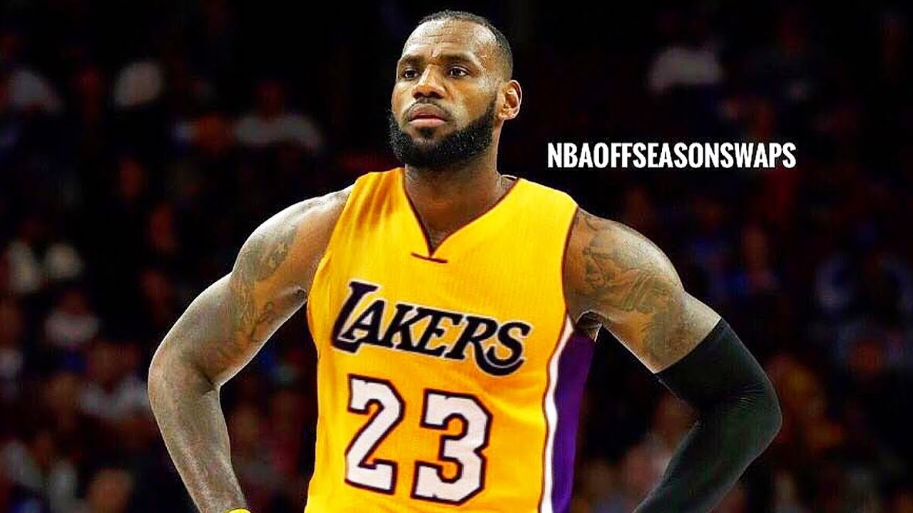 7b49fbe1f645 LeBron James Joining Lakers