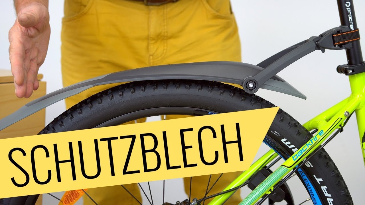 Mountainbike Sks Schutzbleche Montage Einfach Schnell Fahrradorg
