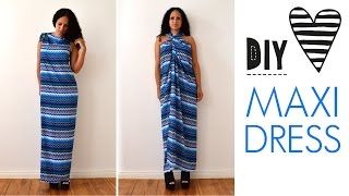 Cation Designs Before the Blog Easiest DIY Maxi Dress Ever