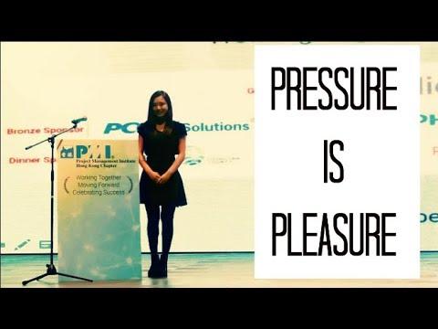 PRESSURE IS PLEASURE |MOTIVATIONAL| World Class Figure Skater | PMI Congress SPEECH