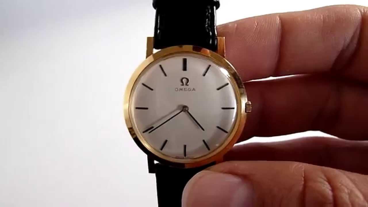 (A LA VENTA) Reloj Omega Vintage Para Caballero e49bc2c82e36