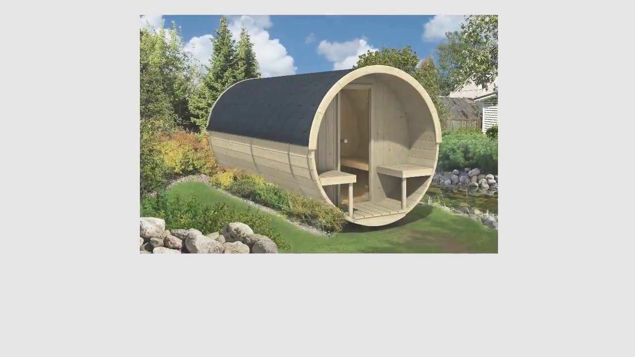 saunafass fass sauna von finn art blockhaus premiumprodukte youtube. Black Bedroom Furniture Sets. Home Design Ideas