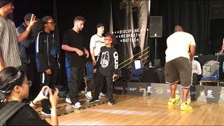 Tech Styles 5 2018 - 2 vs 2 Under 16's Battle Semi Final - Dragon Assassins vs Mac 1 & King James