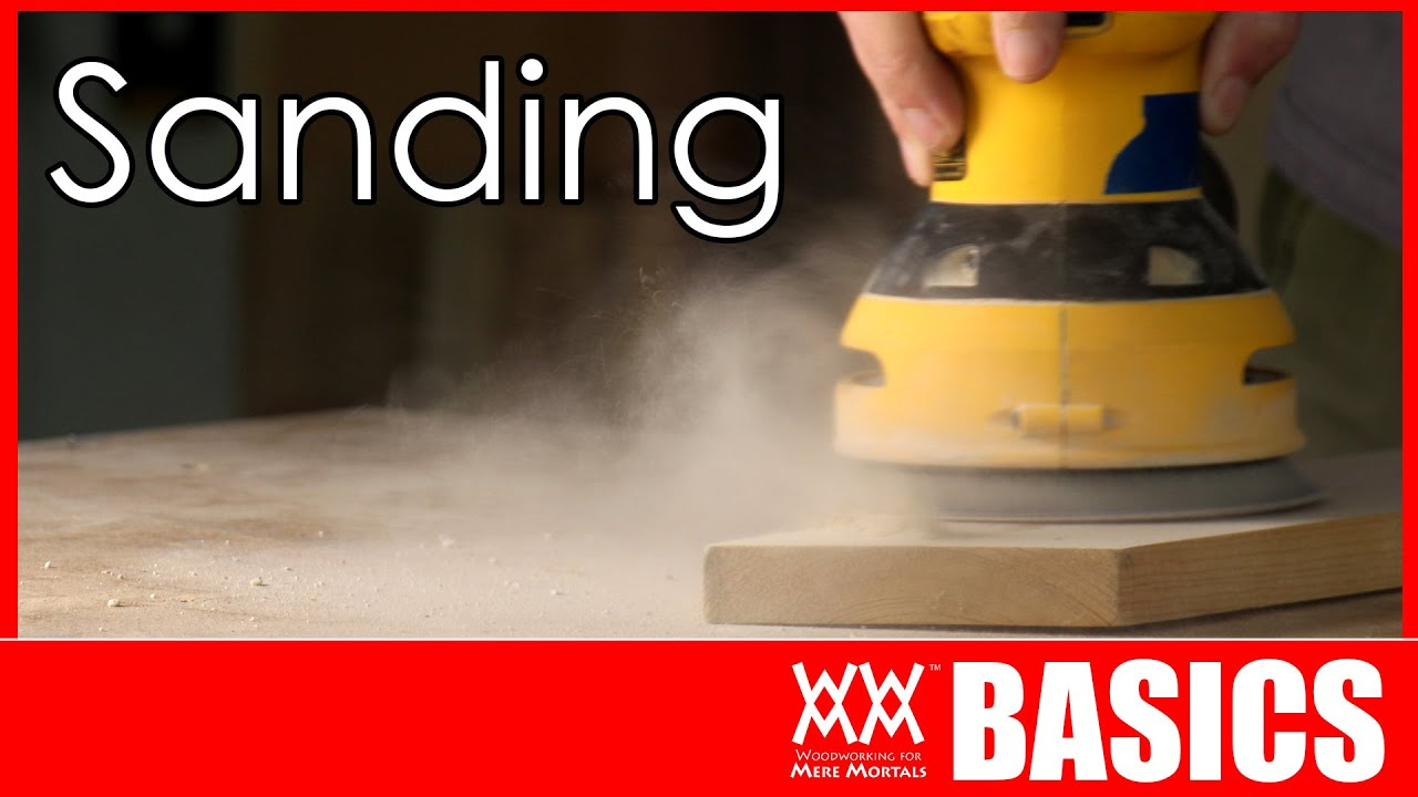 Download The Only 3 Sandpapers You Really Need   SANDING BASICS
